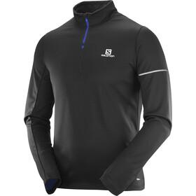 Salomon Agile - T-shirt manches longues running Homme - noir